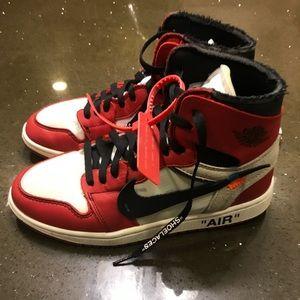 Air Jordan 1 Off White (Chicago)